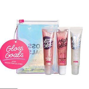 PINK Gloss Goals Lip Kit